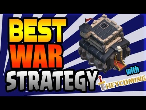 Clash of Clans:  BEST TH9 WAR STRATEGIES w/ TheyComing2Clash!!
