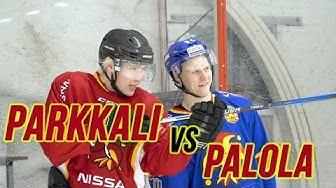 HOCKEY CHALLENGE: JAAKKO PARKKALI VS OLLI PALOLA
