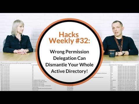 Wrong Permission Delegation Can Dismantle Your Whole Active