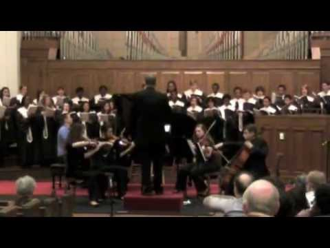 Dark Night of the Soul, PCCA and FUM String Quartet and Choir