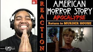 "American Horror Story: Apocalypse 8x06 ""Return to Murder House"" REACTION"