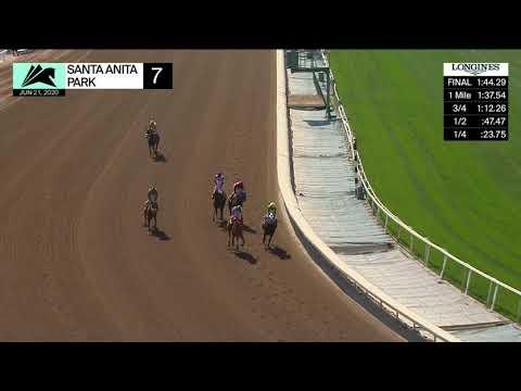Santa Anita Park Resumen - 21 De Junio 2020