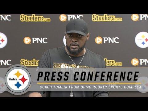 Tomlin praises win, looking forward to the Ravens | Pittsburgh Steelers