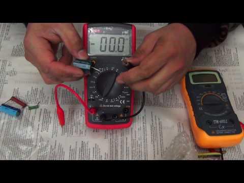 UNI-T UT601 Прибор для измерения емкости конденсаторов и сопротивления