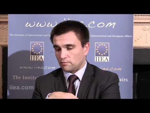 Pavlo Klimkin on Ukraine and the EU - Progress and Future Prospects