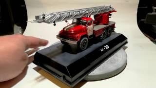 Пожежний автомобіль АЛ-30 1/43 AVD