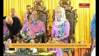 Kehadiran Cik Puan Sofie Louise Johansson curi tumpuan