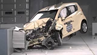 Краш-тест - Chevrolet Spark 2009 (E-NCAP)