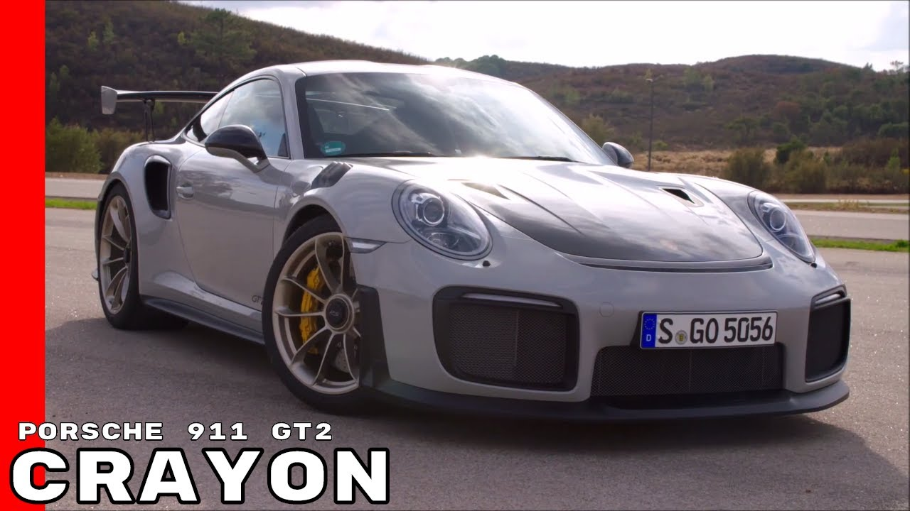 2018 porsche 911 gt2 crayon exterior interior test drive youtube. Black Bedroom Furniture Sets. Home Design Ideas