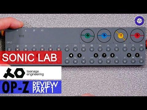 Sonic Lab: Teenage Engineering OP-Z Part 1