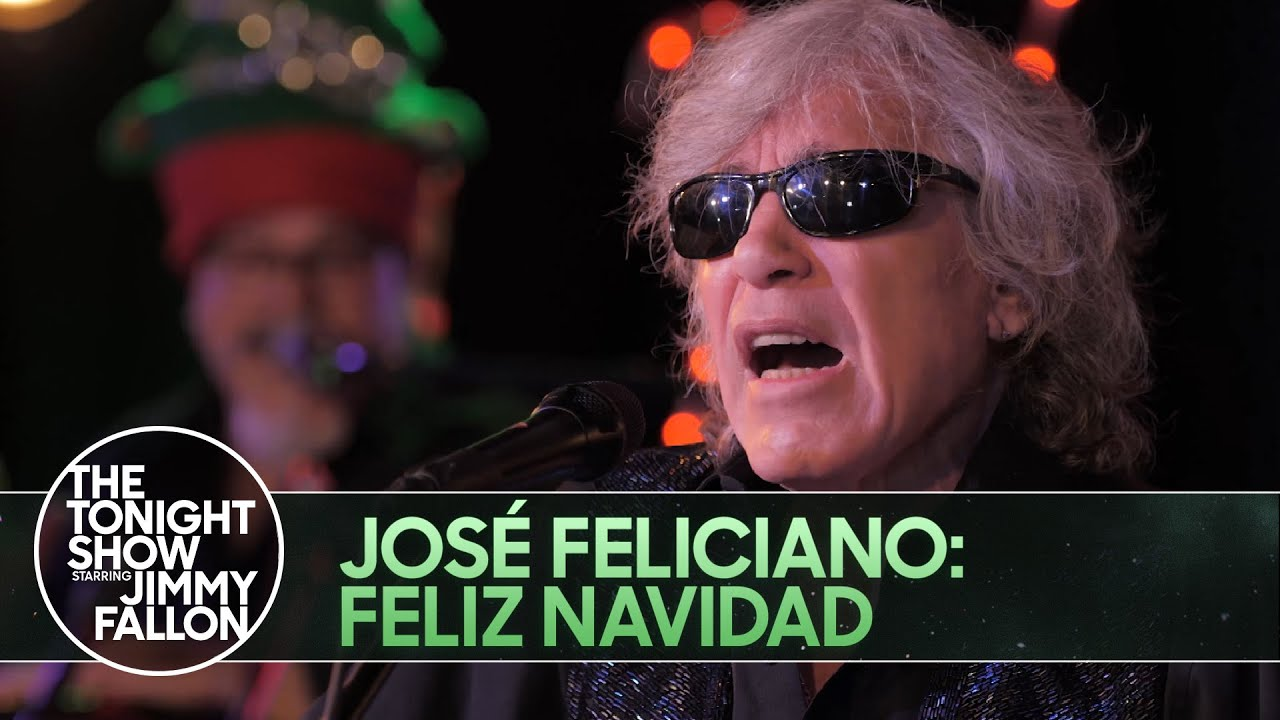 Jose Feliciano on Jimmy Fallon/Tonight Show - Filmed at Factory Underground Studio!