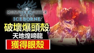 【 MHWi 】分享簡單方法 - 8分鐘 破壞爆頭殼 【 天地煌啼龍 】 武器: 輕弩攻略 | 魔物獵人世界 Iceborne PS4  - MHW