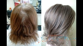 видео Мелирование на седые волосы: как сделать седое мелирование (фото)