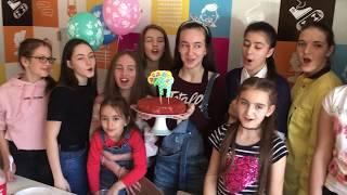 Каринэ-14 лет! Мастер-класс в пиццерии! Тольятти, 13.04.2018