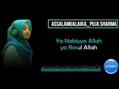 Puja Sharma Assalamualaika + Lyric lagu