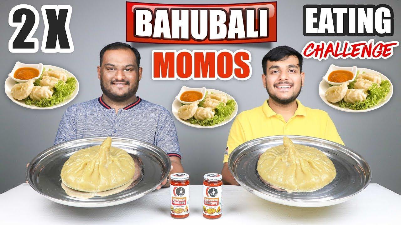 Download BAHUBALI MOMOS EATING CHALLENGE   Momos Challenge   Momos Eating Competition   Food Challenge