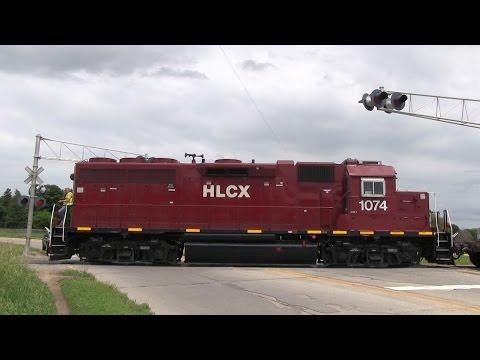 Trains of Mason City, Iowa 6/17/2014