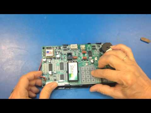 How to program a Janus / EMS ADA Elevator Phone with Keypad