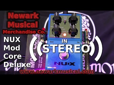 NUX Mod Core Deluxe Stereo Mode Demo