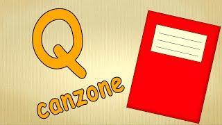 alfabeto italiano pronuncia - Q Canzone - alfabeto canzone per bambini