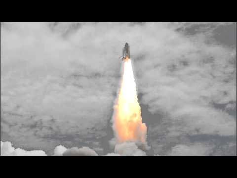 STS-135 Launch Replay: Camera Site 2 (TV-7A)
