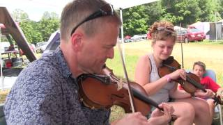 "Campsite Jam 3 - ""Farewell Blues"" - Grey Fox 2013"
