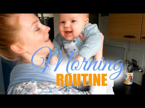 MORNING ROUTINE WITH MY 3 MONTH OLD BABY | VICINA LUCINDA