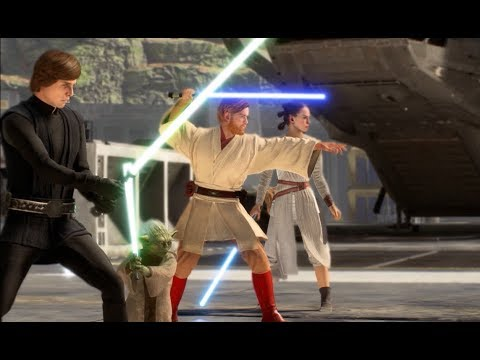 Star Wars Battlefront 2 Heroes Vs Villains 620 One Guy Had To Ruin It All thumbnail