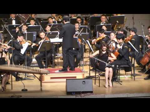 Oriental Express & National Police Symphony Orchestra - Jumping without moving - Korean Fusion Band