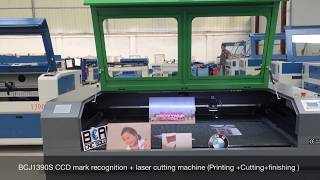 1390 Laser cutting engraving machine with CCD Camera