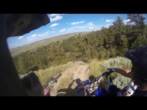 Dirt Biking - Billings, MT South Hills 7-12-13