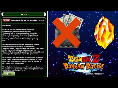 Belgium Is Now Free To Play! Dragon Ball Z Dokkan Battle