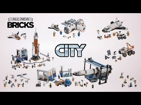 Lego City Compilation Of All NASA Mars Exploration Sets