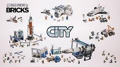 Lego City Compilation of All NASA Mars Exploration Sets