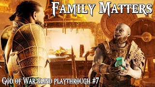 Family Matters || God of War (2018) blind playthrough #7