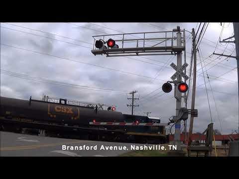 Railroad Crossings Of The Nashville & Eastern Railroad