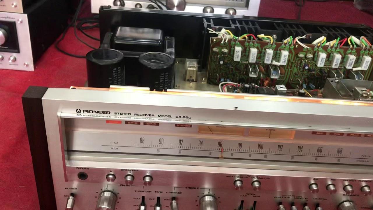 Amply pioneer Sx 950 đẹp mĩ miều,phang nhiều loa hay.Lượng Anh audio:0972958970-0944454505
