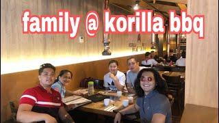 My Family at Korilla BBQ