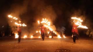 Огненное шоу арт-группы