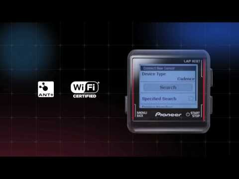 Pioneer pedaling monitor system | SGX-CA500 Product Video| Pioneer power meter