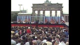 President Ronald Reagan's Speech at the Berlin Wall, June 12, 1987