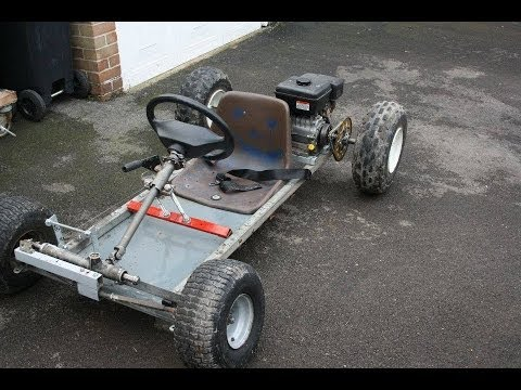 Homemade Go Karts Mk1 And Mk2 Youtube