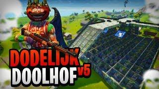 HET DODELIJKE DOOLHOF V5 - Fortnite Mini-Game met Rudi, Duncan & Pascal