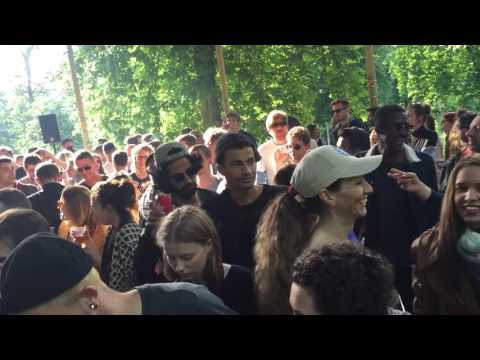 Mombo @ Electronic Garden, Parc Royal (Brussels) 26-6-16
