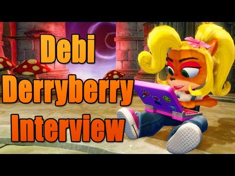 Debi Derryberry Interview: The Voice of Coco Bandicoot in the Crash Bandicoot N Sane Trilogy