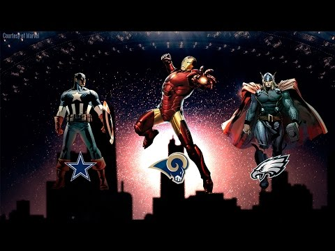 Marvel Comics 2016 Mock Draft (Picks 1-10) | Captain America: Civil War | NFL