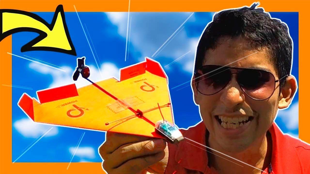 🔴 ¡¡ AVIÓN DE PAPEL A CONTROL REMOTO !!! El MEJOR Avión de Papel del MUNDO | Especial VIDEO #100