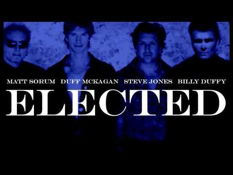'Elected' featuring Matt Sorum, Duff McKagan, Steve Jones & Billy Duffy