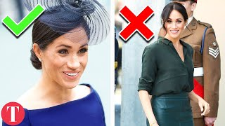 10 Risky Meghan Markle Looks The Queen Wouldn