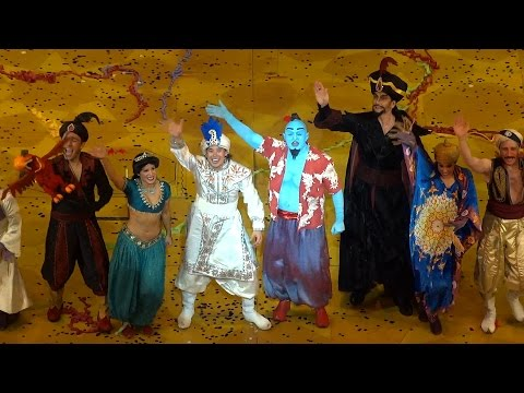 """Aladdin: A Musical Spectacular"" highlights of final performance at Disney California Adventure"